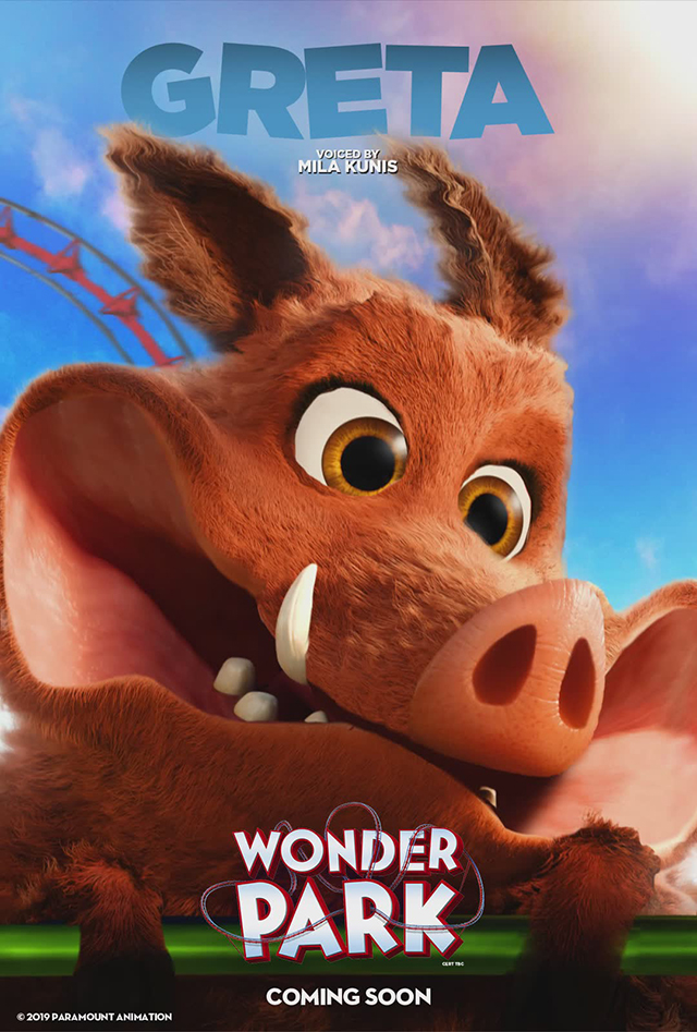 Wonder Park 6 New Character Posters Released For The Film