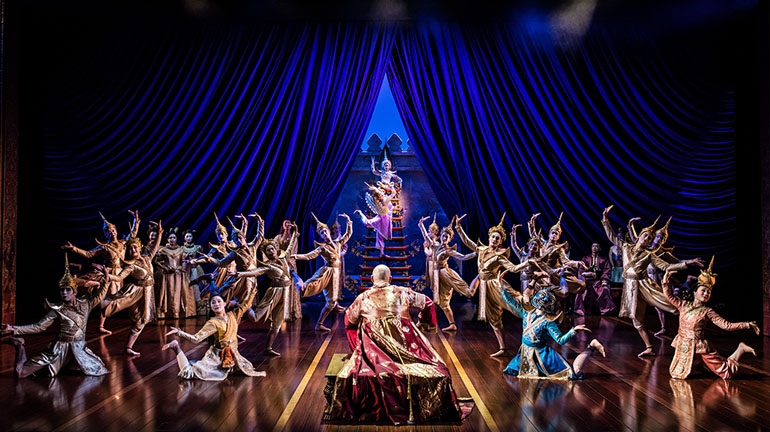 The King and I at Leeds Grand Theatre - Credit Matthew Murphy.