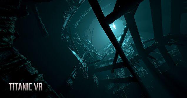 Titanic VR ROV Exploration