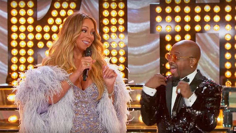 Mariah Carey and Jermaine Dupri - Lip Sync Battle
