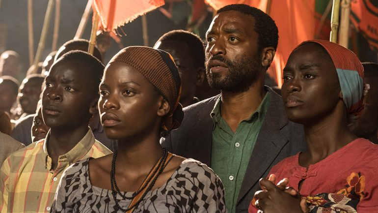 Image result for Chiwetel Ejiofor's Debut To Air On Netflix On March 1st