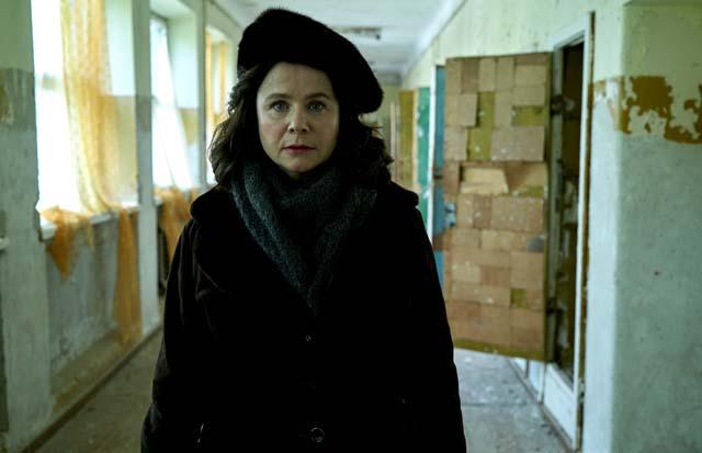 CHERNOBYL - Emily Watson as Ulana Khomyuk - photo credit Liam Daniel Sky and HBO