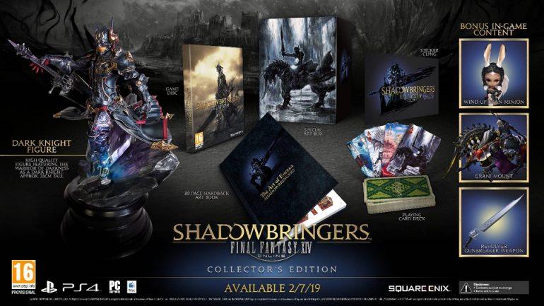 Final Fantasy XIV: Shadowbringers collector's edition
