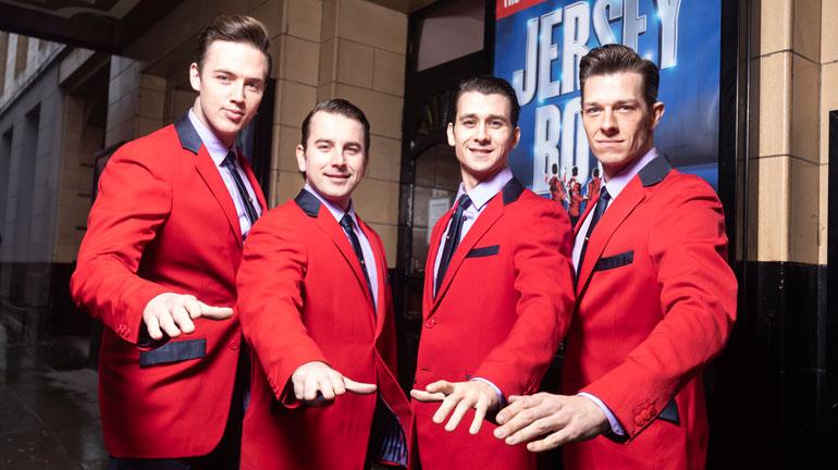Jersey Boys Musical Manchester Credit Phil Tragen