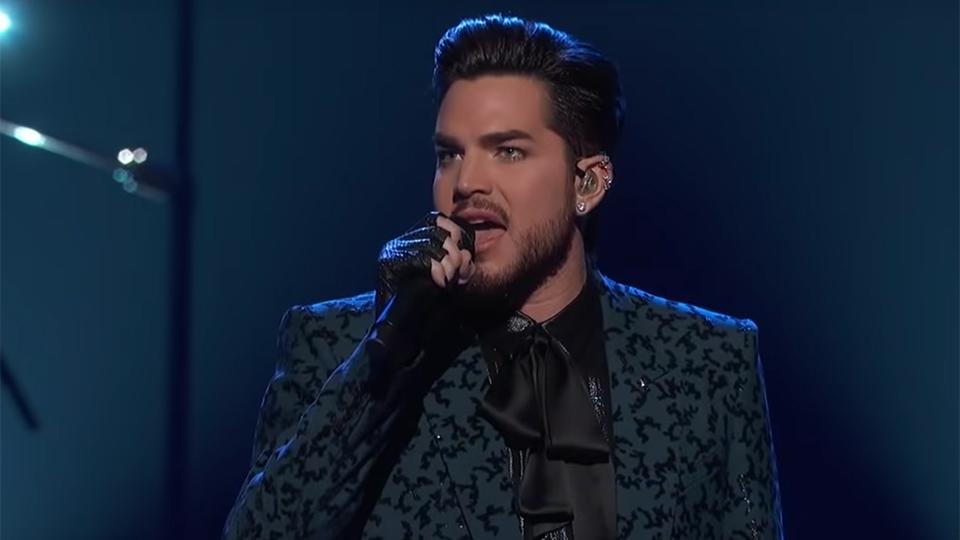 Adam Lambert at the Oscars