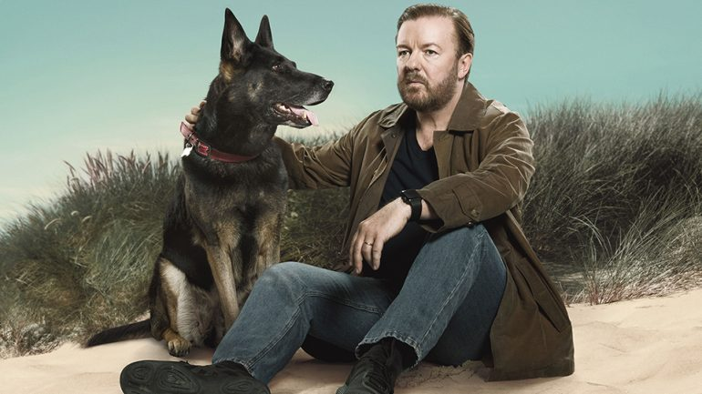 Afterlife starring Ricky Gervais