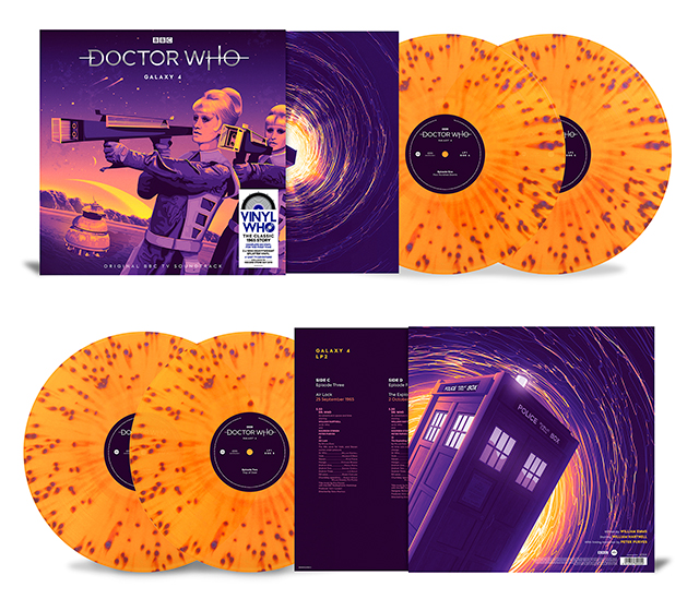 Doctor Who Record Store Day vinyls