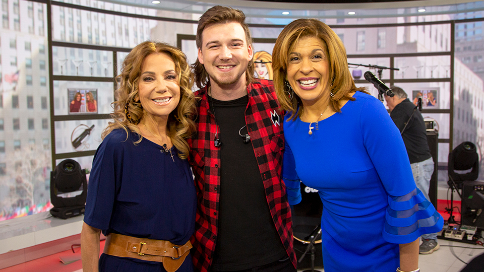 Kathie Lee, Morgan Wallen and Hoda