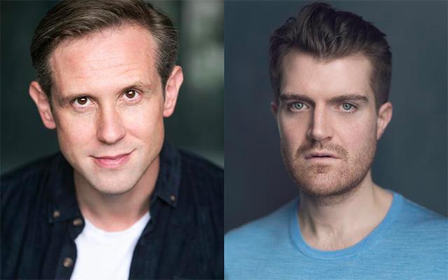Ian Hallard and Ciarán Owens