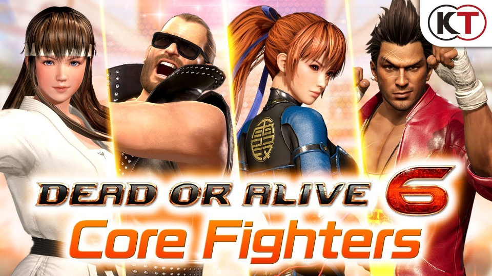 Dead or Alive 6 - Core Fighters edition