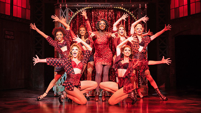 Kinky Boots at Leeds Grand Theatre - Credit Helen Maybanks