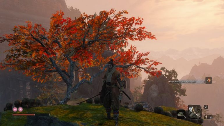 The best XP farming areas in the early game of Sekiro