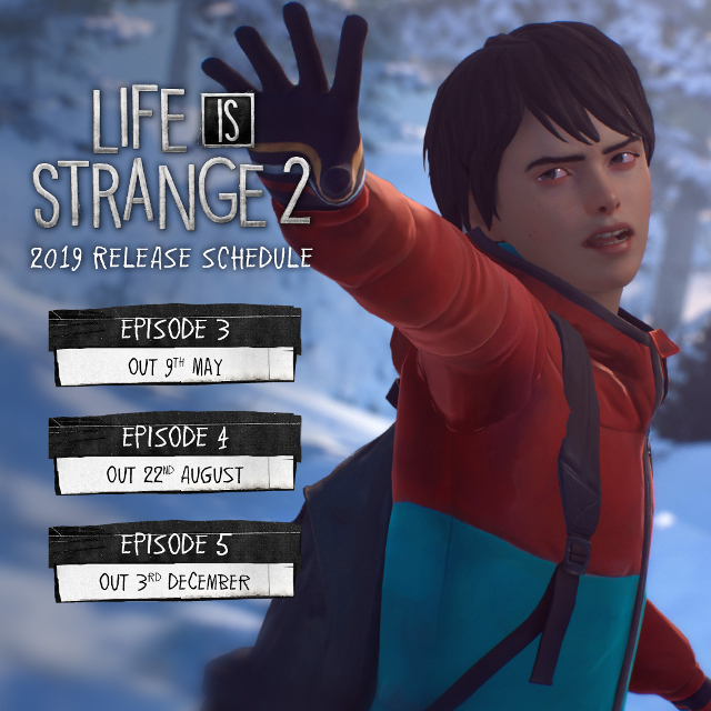 Life is Strange 2 - Roadmap