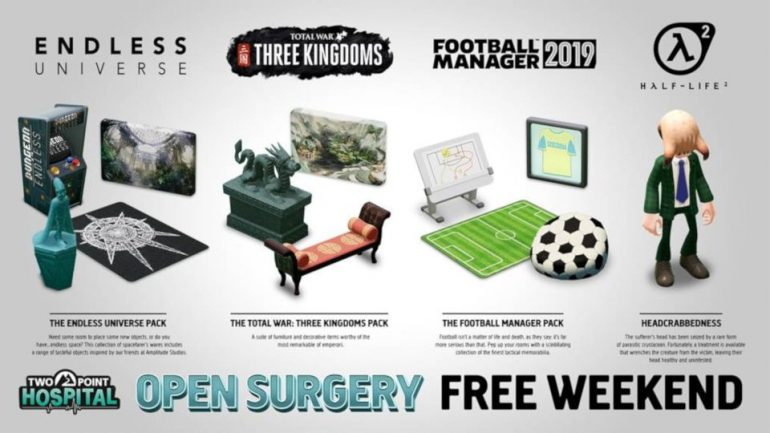 Free play weekend plus new items coming to Two Point