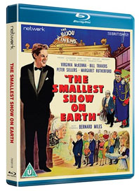 The Smallest Show on Earth Bluray case