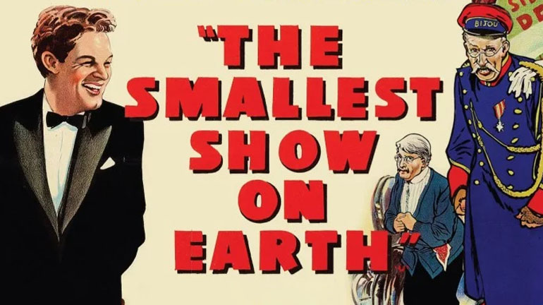 The Smallest Show on Earth DVD and Bluray release