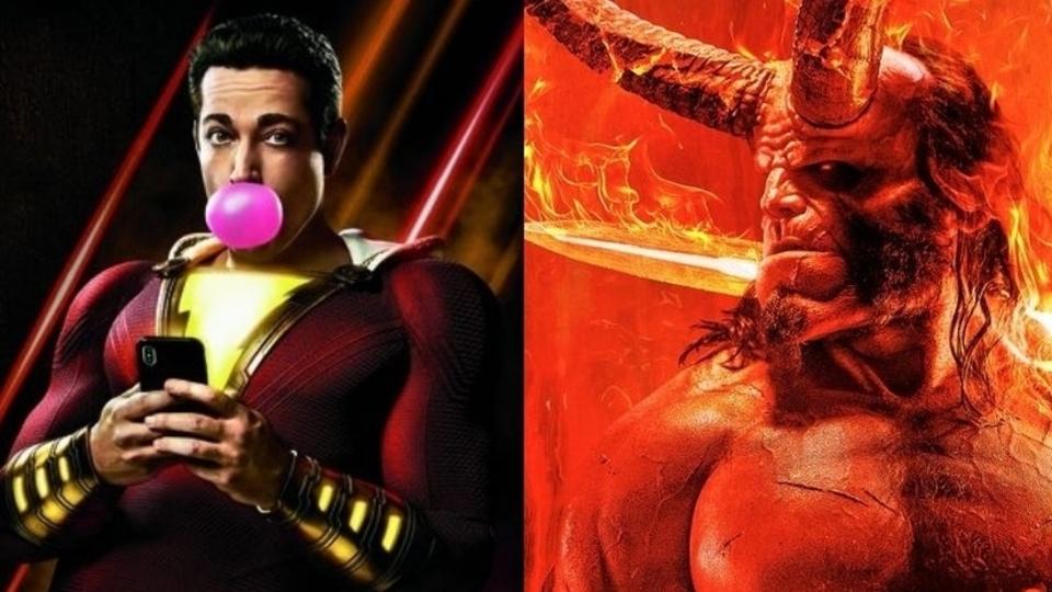 Forbidden Planet Hellboy & Shazam