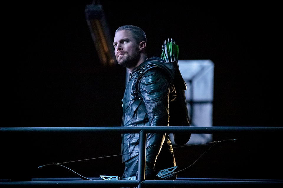 Arrow 7x11 Past Sins