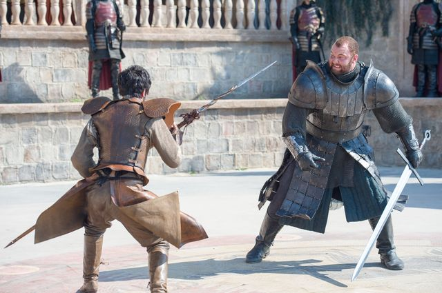 Game of Thrones - Mountain vs the Viper