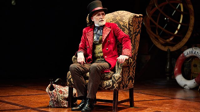 Robert Pickavance in Around the World in 80 Days. Photography by David Lindsay