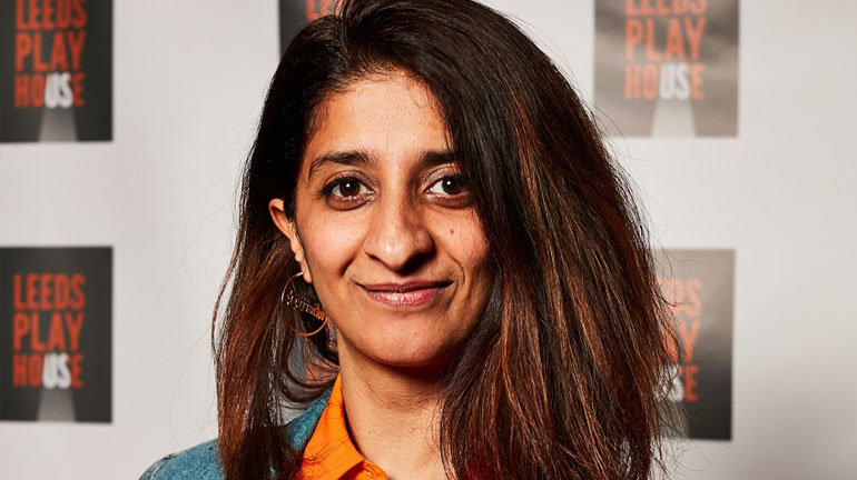 Sameena Hussain at Leeds Playhouse via RTYDS