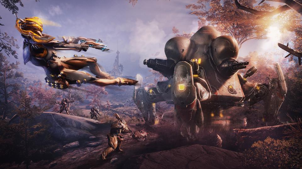 Warframe - Plains of Eidolon Remaster