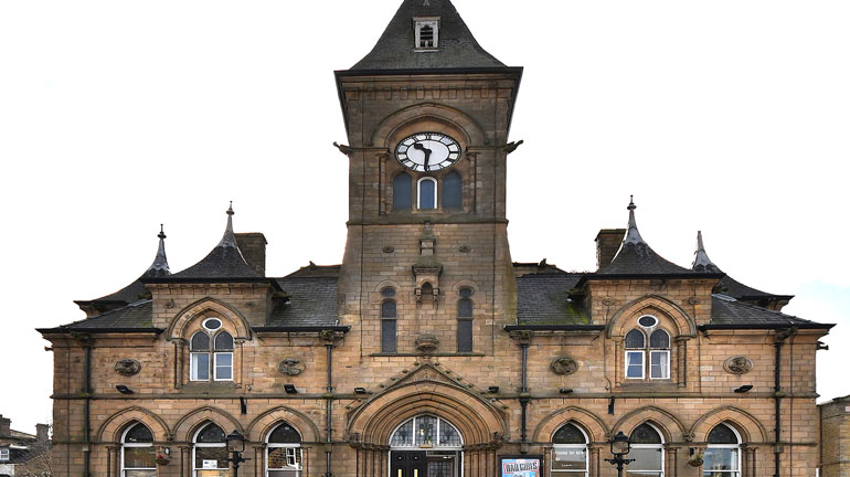 Yeadon Town Hall Clock Tower Open Afternoon