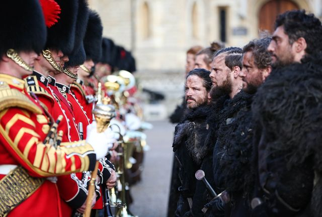 Game of Thrones – The Night's Watch & The Coldstream Guards at the Tower of London