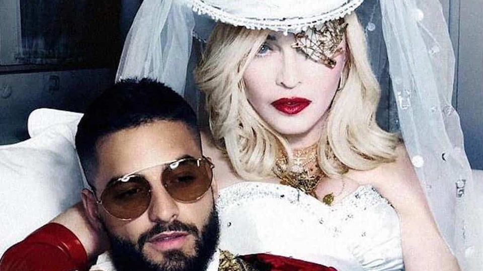 Madonna and Maluma