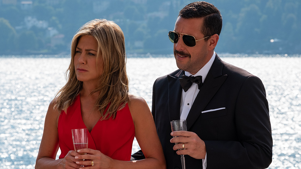 Murder Mystery - Jennifer Aniston and Adam Sandler