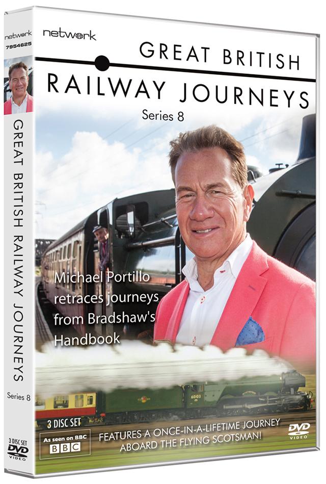 All 10 series of Michael Portillo's Great British Railway