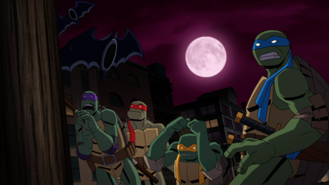 Batman v Teenage Mutant Ninja Turtles