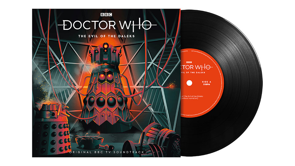 Doctor Who - The Evil of the Daleks vinyl EP