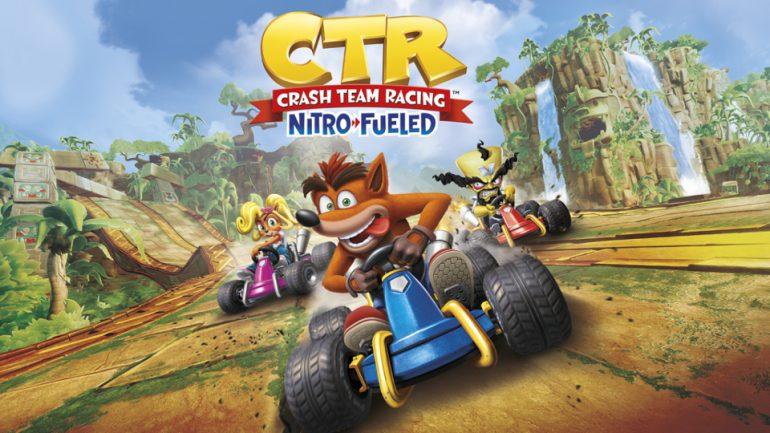 Crash Team Racing Nitro-Fueled launching tomorrow
