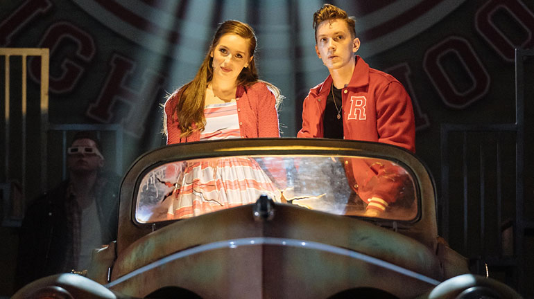 Grease The Musical at Leeds Grand Theatre Credit Manuel Harlan
