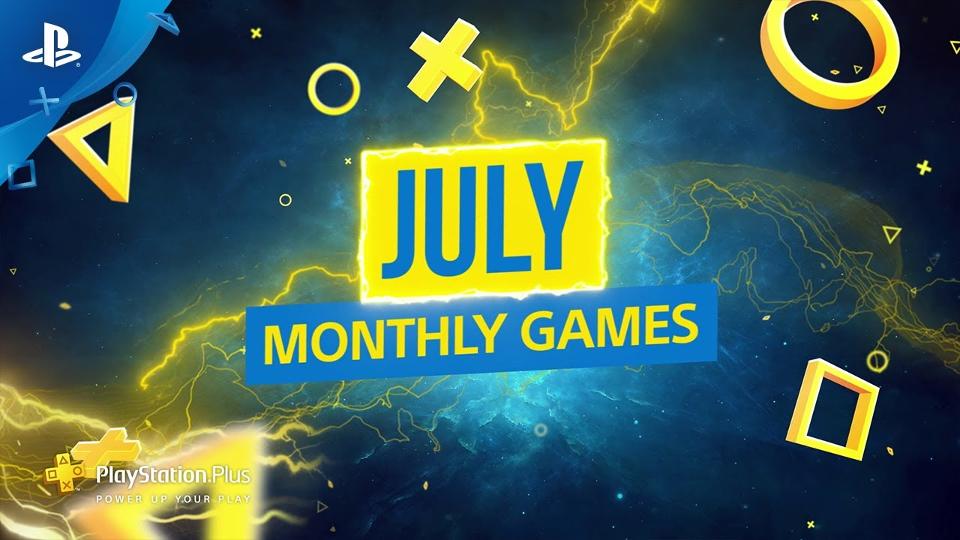 PS Plus - July 2019