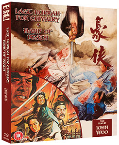 Last Hurrah For Chivalry & Hand Of Death: Two Films By John Woo