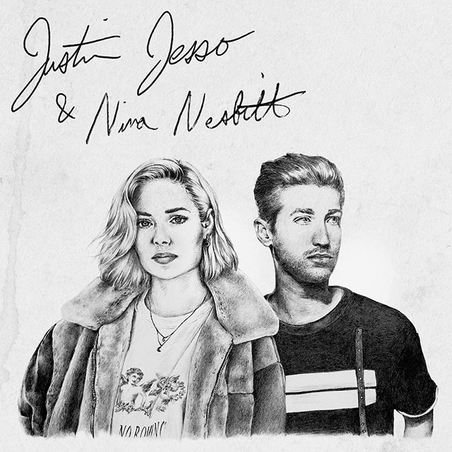 Justin Jesso and Nina Nesbitt