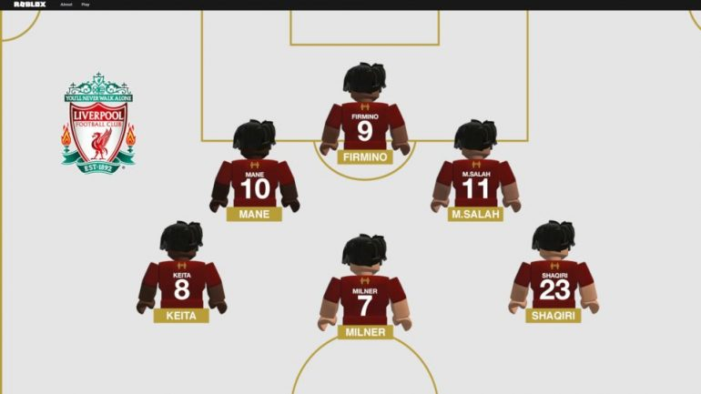 Team Upgrade Roblox - Roblox And Liverpool Football Club Team Up For A Limited