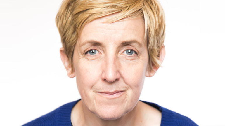 Julie Hesmondhalgh at Leeds Playhouse.