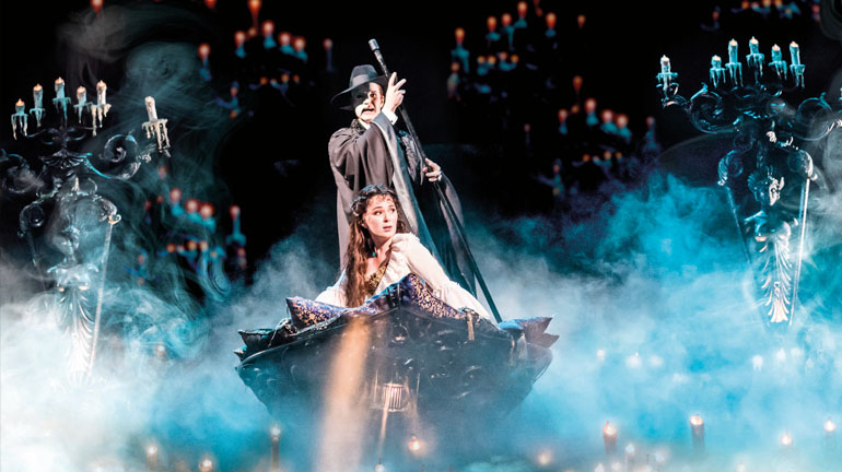 The Phantom of the Opera - Manchester Palace Theatre - Photo Johan Persson