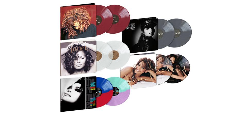 Janet Jackson vinyl reissues