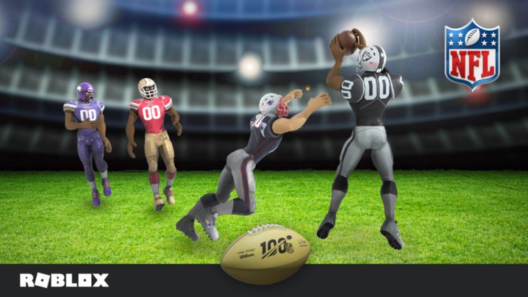 Team Upgrade Roblox - Roblox Teams Up With The Nfl To Celebrate 100th Anniversary