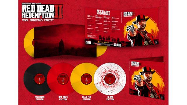 red dead 2 vinyl