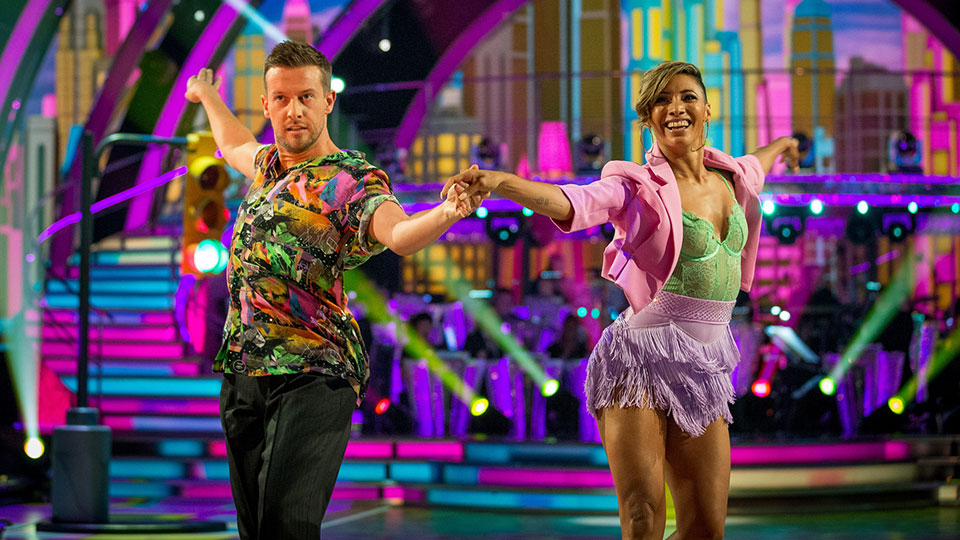 Chris and Karen - Strictly Come Dancing week 1
