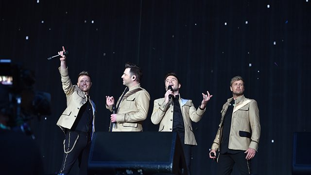 Westlife at BBC Radio 2 Live in Hyde Park
