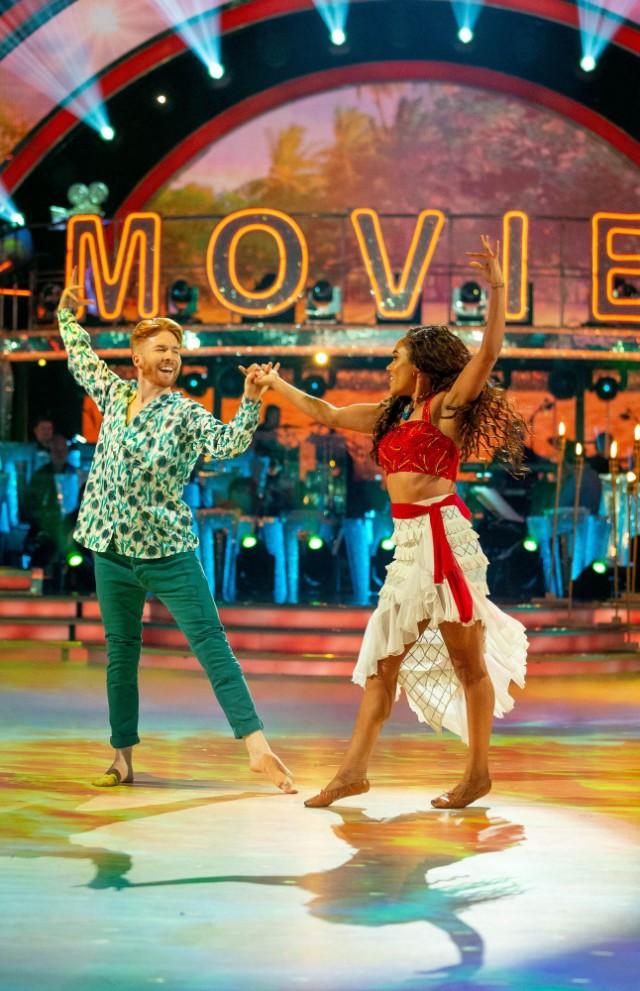 Strictly Come Dancing 2019 Alex Scott MBE Neil Jones