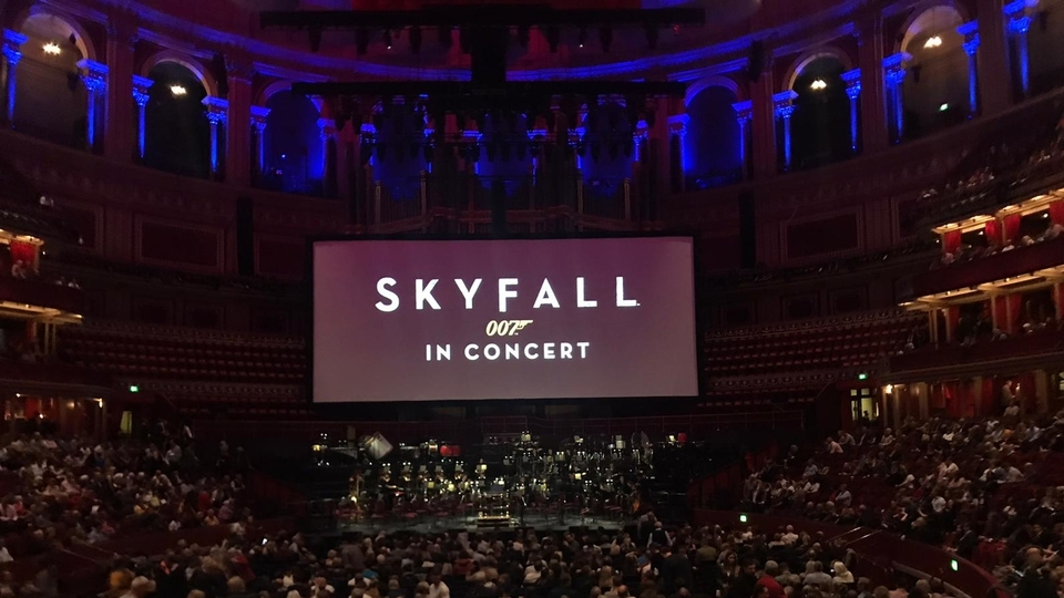 Skyfall at the Royal Albert Hall