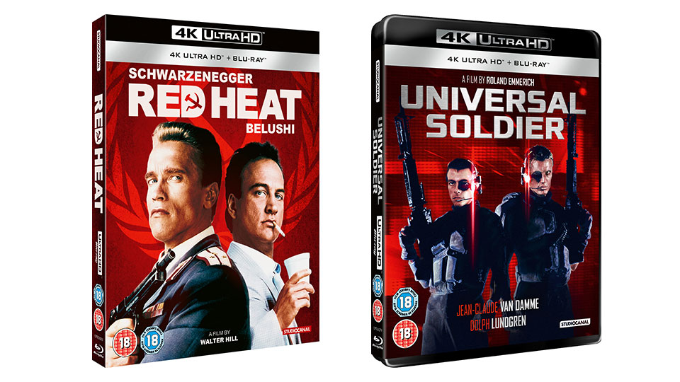 Red Heat and Universal Soldier