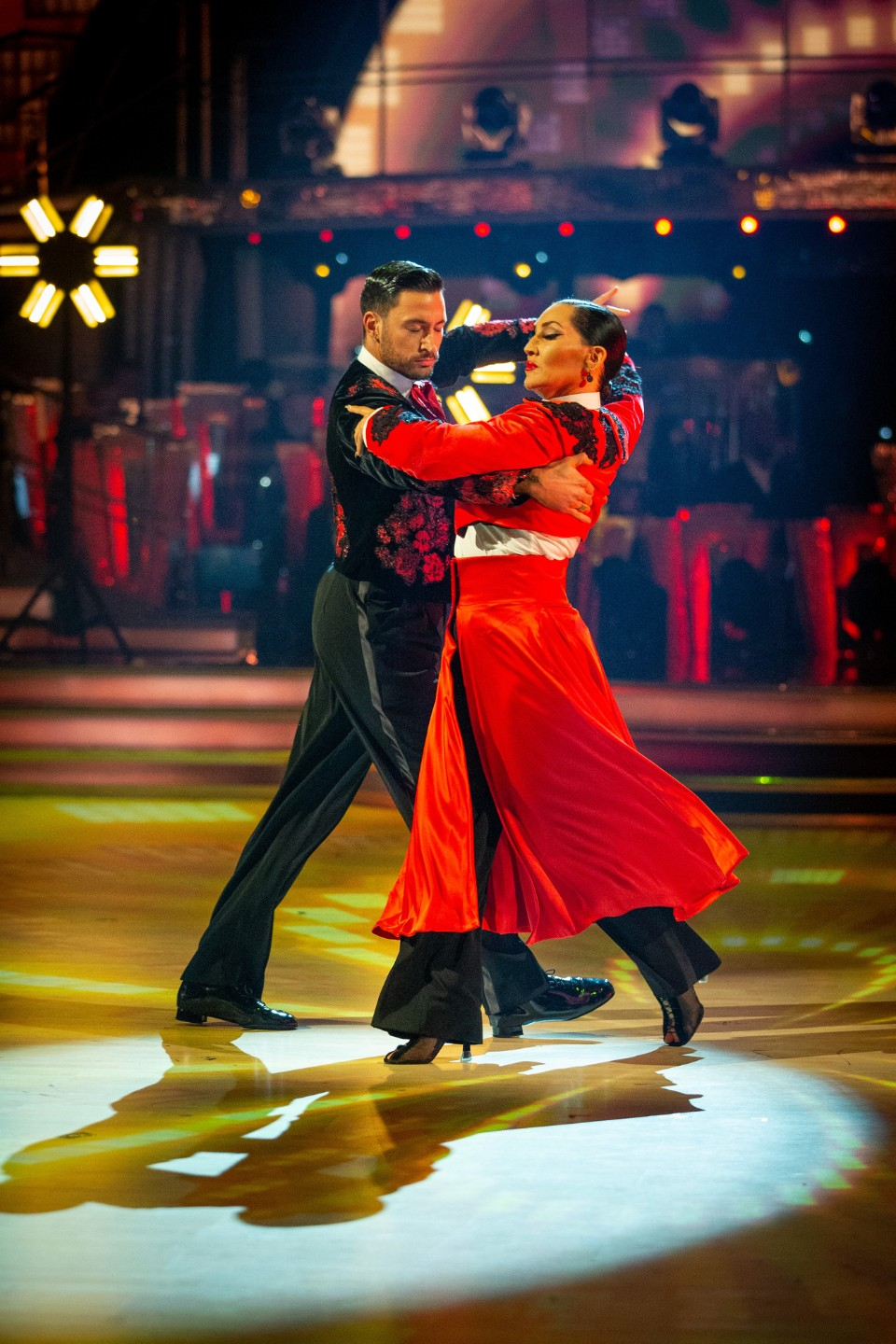 Strictly Come Dancing Michelle Visage Giovanni Pernice